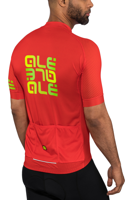 e347d1497ddb Alé Cycling Solid Mirror maglietta a maniche corte Uomo rosso/colorato